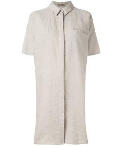 Nehera | Open Back Shirt Dress