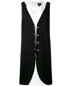 Class Roberto Cavalli | Двухслойное Платье С Отделкой В Форме Булавок