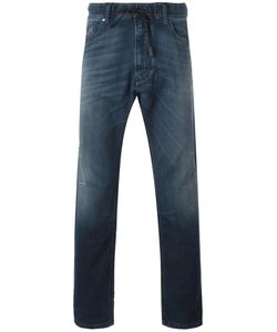 Diesel | Straight Leg Jeans 36 Cotton/Calf Leather/Polyester/Spandex/Elastane