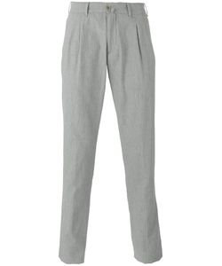Lardini | Slim-Fit Tailored Trousers Size 50