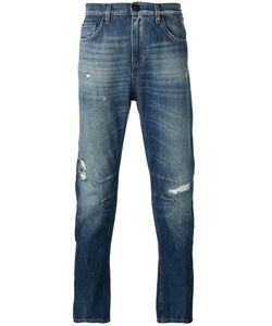 Versace Jeans | Distressed-Effect Jeans 33 Cotton/Polyester