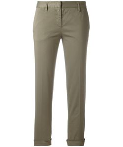 Aspesi | Cropped Trousers 44 Cotton/Spandex/Elastane