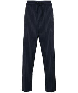 3.1 Phillip Lim | Pinstriped Track Pants Small Wool