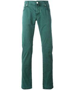 Jacob Cohёn | Jacob Cohen Slim-Fit Trousers 30 Cotton/Spandex/Elastane