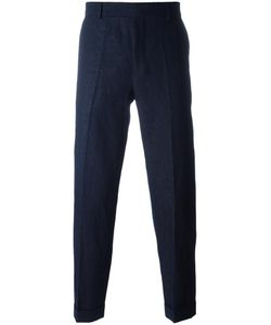 Paul Smith | Tape Trousers 32 Cupro/Linen/Flax/Cotton