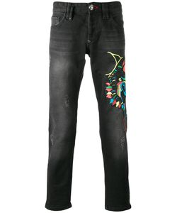 Philipp Plein | Embroidered Jeans Size 32
