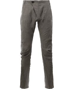 Masnada | Tapered Casual Trousers Size 50