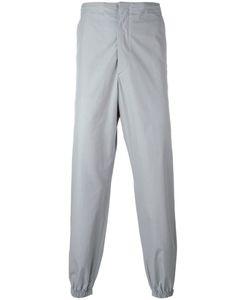 Jil Sander   Gathe Ankle Trousers 44 Cotton