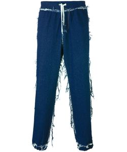 Andrea Crews | Cuffed Straight Jeans Small Cotton