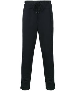 PUBLIC SCHOOL | Drawstring Track Pants Large Nylon/Polyester/Spandex/Elastane/Rayon