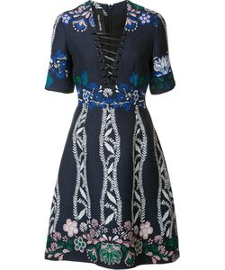 Yigal Azrouel | Spring Field Jacquard Dress 4 Cotton/Acrylic/Polyamide