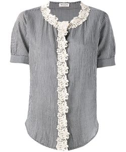 Masscob | Macrame Trim Shirt Size Medium