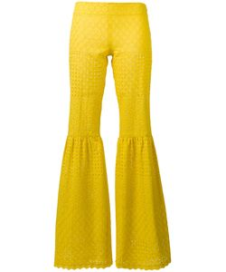 Daizy Shely | Fitted Flare Trousers 38 Cotton
