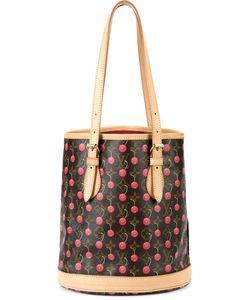 LOUIS VUITTON VINTAGE | Monogram Cherry Print Shoulder Bag