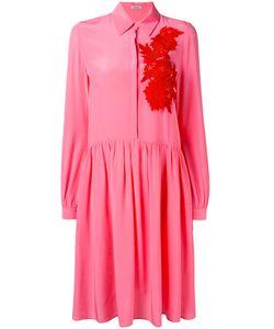 P.A.R.O.S.H. | Платье-Рубашка С Цветочной Вышивкой P.A.R.O.S.H.