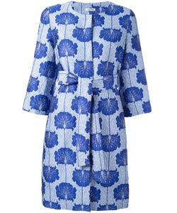 P.A.R.O.S.H. | Jacquard Coat Xs Silk/Polyamide/Polyester