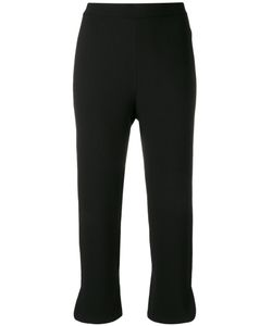 Theory   Straight Cropped Trousers Size 8