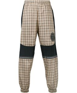 Astrid Andersen | Logo Patch Checked Trousers