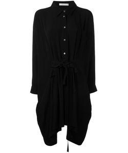 Peter Jensen | Ruffled Front Shirt Dress Medium Viscose