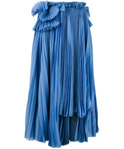 Rochas   Mid-Length Pleated Skirt