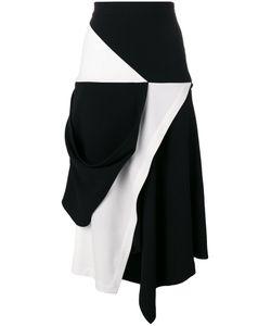 J.W. Anderson | J.W.Anderson Contrast Asymmetric Skirt 10