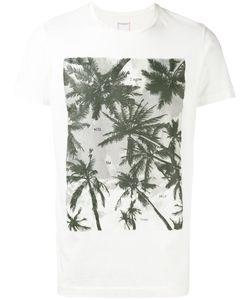 HTC Hollywood Trading Company | Palm Tree Print T-Shirt Size Medium