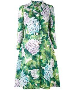 Dolce & Gabbana | Пальто С Цветочным Узором