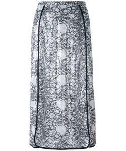 Marco De Vincenzo | Embellished Polyester Midi-Length Skirt