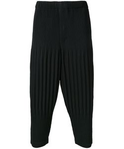 HOMME PLISSE ISSEY MIYAKE | Homme Plissé Issey Miyake Pleated Cropped Length Trousers 3