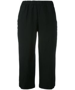COMME DES GARCONS COMME DES GARCONS | Comme Des Garçons Comme Des Garçons Cropped Wide-Leg Trousers Size