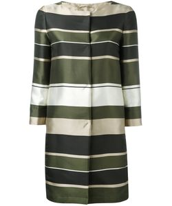 Herno | Stripe Panel Coat Size 42