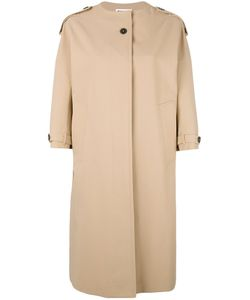 Jil Sander | Three-Quarters Sleeve Coat 34 Cotton/Silk/Cupro