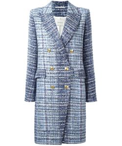 Pierre Balmain | Tweed Coat 38 Cotton/Polyamide/Viscose/Viscose
