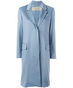 Burberry   Single-Breasted Coat 12 Cashmere/Acetate/Cupro