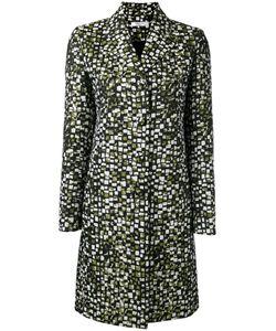 Lanvin | Jacquard Coat 38 Cotton/Polyamide/Polyester/Viscose