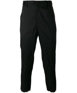 Issey Miyake | Creased Cuffs Loose-Fit Trousers
