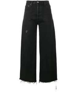Re/Done | High Rise Cropped Jeans Size 28