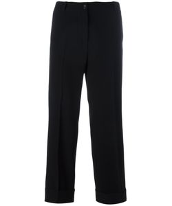 Alberto Biani | Straight Cropped Trousers Size 44