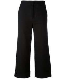 Pt01 | Wide Leg Cropped Trousers