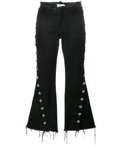 Marques Almeida | Marquesalmeida Stud-Trimmed Frayed Jeans 12 Cotton