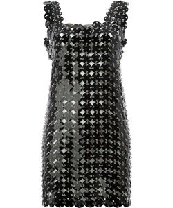 Paco Rabanne | Disc Embellished Shift Dress Size Calf