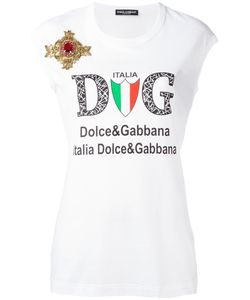 Dolce & Gabbana | Emblem Patch Logo Tank Top 38