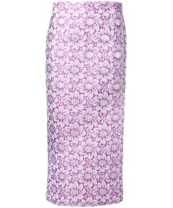 Rochas | Jacquard Midi Skirt Size 42