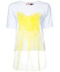 Jenny Fax | Tulle Appliqué T-Shirt