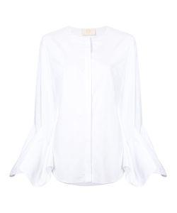 Sara Battaglia   Flared Sleeves Shirt Size 44
