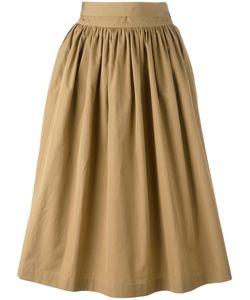 Aspesi   Gathered Midi Skirt 42
