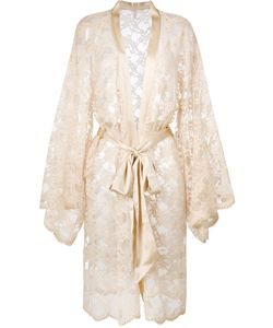Dolci Follie   Lace Kimono With Crystals Women