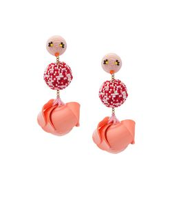 Rebecca De Ravenel | Les Bonbons Flamingo Earrings