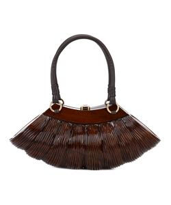 ROCIO | Collette Classic Large Tote Wood