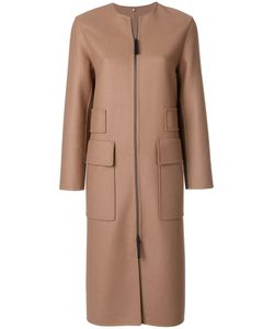 NUMEROOTTO | Zip-Up Coat With Large Pockets Women